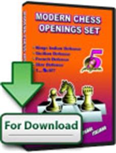Obrázek z Moderní Šachová Zahájení Set (ke stažení)
