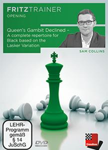 Obrázek z Queen's Gambit Declined - A repertoire for Black based on the Lasker Variation (DVD)