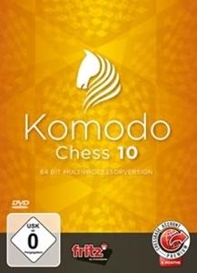 Obrázek z Komodo Chess 10 na DVD