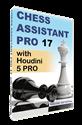 Obrázek pro výrobce Chess Assistant 17 PRO with Houdini 5 PRO (download)
