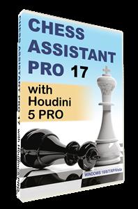 Obrázek z Chess Assistant 17 PRO with Houdini 5 PRO (download)
