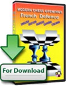 Obrázek z Moderní Šachová Zahájení Francouzská Obrana (Download)