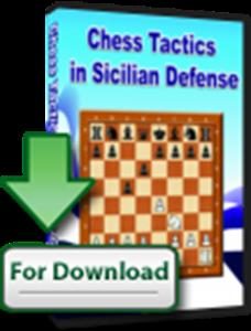 Obrázek z Šachová taktika v Sicilské Obraně (download)