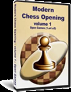 Obrázek z Moderní Šachová Zahájení 1: Otevřené hry (1.e4 e5) (download)