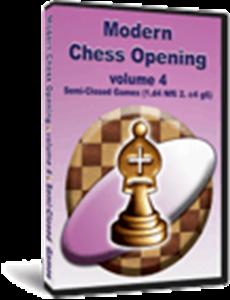 Obrázek z Moderní Šachová zahájení 4: Polo-Zavřené Hry (downoad)