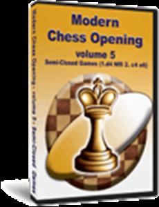 Obrázek z Moderní Šachová Zahájení 5: Polo-Zavřené Hry (download)