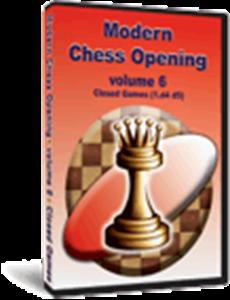 Obrázek z Moderní Šachová zahájení 6: Zavřené Hry (1.d4 d5) (download)