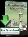 Obrázek pro výrobce Šachová kolekce střední hry 2013