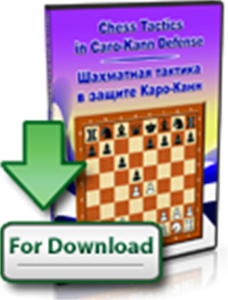 Obrázek z Chess Tactics in Caro-Kann Defense (download)