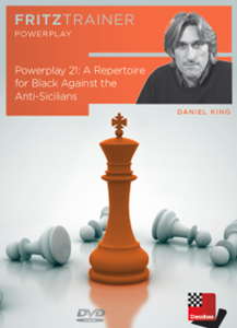 Obrázek z Power Play 21: A repertoire for black against the Anti-Sicilians (download)