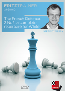 Obrázek z The French Defence. 3.Nd2: a complete repertoire for White (download)