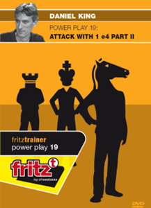 Obrázek z Power Play 19: Attack with 1.e4 - Part 2 (download)