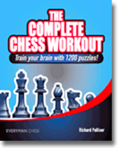 Obrázek z The Complete Chess Workout: Train your brain with 1200 puzzles!
