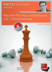 Obrázek z Play the Pirc like a Grandmaster Vol. 1: Positional lines (DVD)
