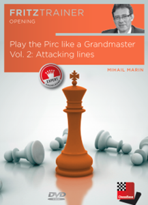 Obrázek z Play the Pirc like a Grandmaster Vol. 2: Attacking lines (DVD)