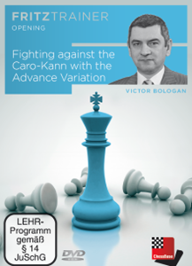 Obrázek z Fighting against the Caro-Kann with the advanced variantion (DVD)