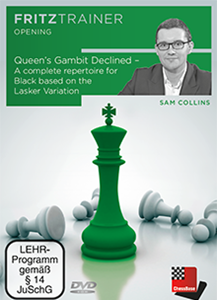 Obrázek z Queen's Gambit Declined - A repertoire for Black based on the Lasker Variation (DVD)