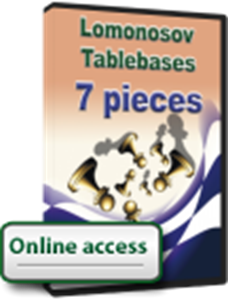 Obrázek z Lomonosov Tablebases 2016, 7 pieces. 1-year access