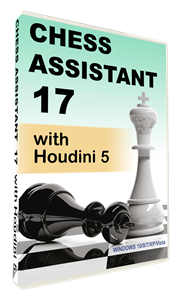 Obrázek z Chess Assistant 17 with Houdini 5 (download)