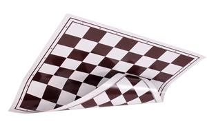 Obrázek z šachovnice rolovací hnědá 5x5