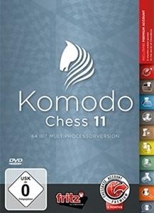 Obrázek z Komodo Chess 11 - DVD