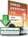 Obrázek pro výrobce Chess Assistant 18 with Houdini 6 (download)