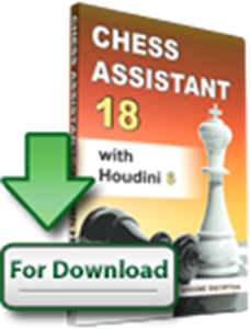 Chess Assistant 18 with Houdini 6 (download)