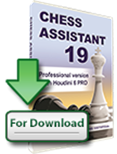 Obrázek z Chess Assistant 19 PRO with Houdini 6 PRO (download)