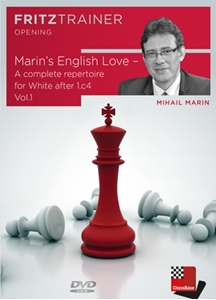 Obrázek z Marin's English Love - A complete repertoire for White after 1.c4 Vol.1