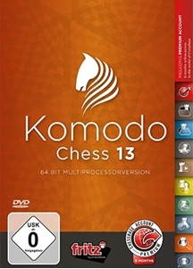 Obrázek z Komodo Chess 13 - DVD