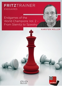 Obrázek z Endgames of the World Champions Vol. 2 - from Steinitz to Spassky (download)