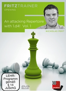 Obrázek z Attacking Repertoire with 1.d4! Vol. 1 (download)