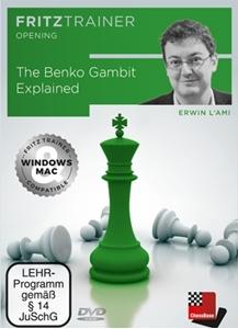 Obrázek z The Benko Gambit Explained (download)