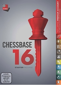 Obrázek z ChessBase 16 - Starter Package Edition 2021 - DVD