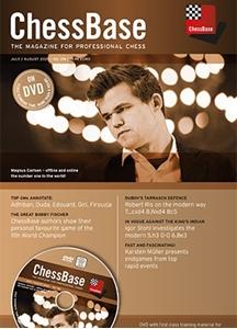 Obrázek z ChessBase Magazine 196 DVD