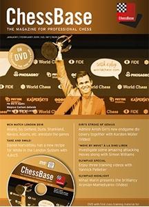 Obrázek z ChessBase Magazine 187 DVD