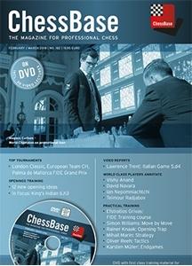 Obrázek z ChessBase Magazine 182 DVD