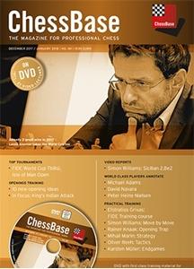 Obrázek z ChessBase Magazine 181 DVD