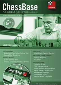 Obrázek z ChessBase Magazine 180 DVD