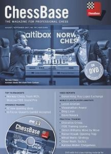 Obrázek z ChessBase Magazine 179 DVD