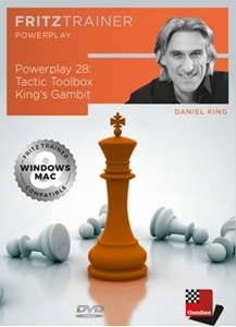 Obrázek z Power Play 28: Tactic Toolbox King's Gambit (DVD)