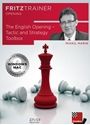Obrázek pro výrobce The English Opening - Tactic and Strategy Toolbox (DVD)