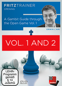 Obrázek z A Gambit Guide through the Open Game Vol.1 and 2 (DVD)