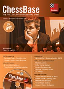 Obrázek z ChessBase Magazine 170 DVD