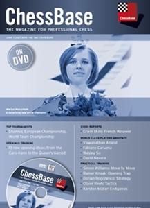 Obrázek z ChessBase Magazine 166 DVD