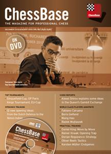 Obrázek z ChessBase Magazine 157 DVD