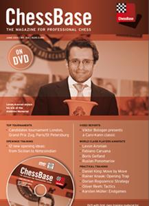 Obrázek z ChessBase Magazine 154 DVD