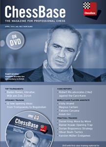 Obrázek z ChessBase Magazine 153 DVD