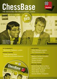 Obrázek z ChessBase Magazine 152 DVD