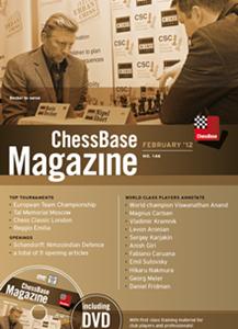 Obrázek z ChessBase Magazine 146 DVD